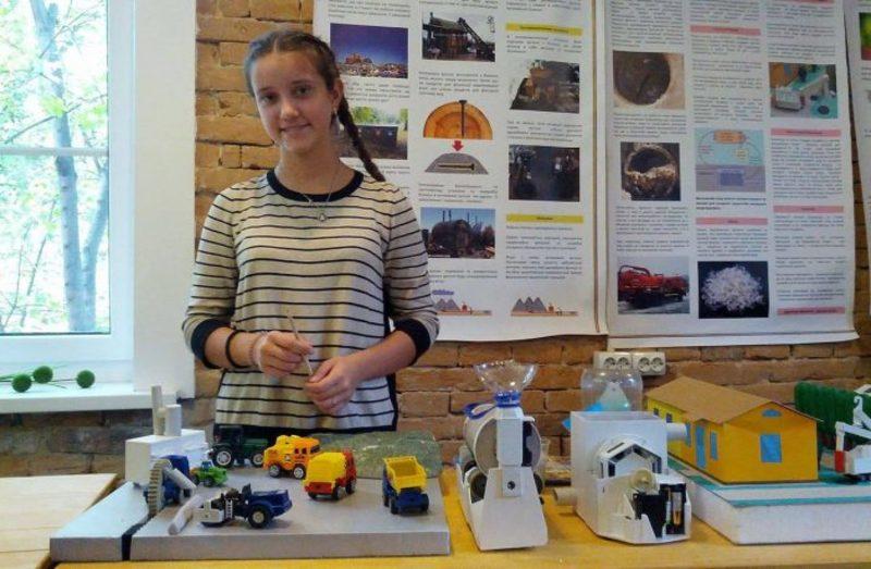 Львівська дев'ятикласниця придумала, як вирішити проблему Грибовицького сміттєзвалища