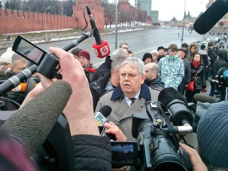Заява посла США в Росії Джона Теффта у зв'язку з убивством Бориса Нємцова