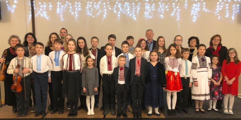 Різдвяний звіт школи мистецтв при Катедрі св.Миколая