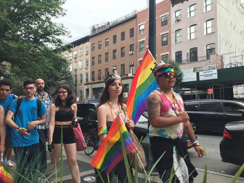 """Rainbow NYC"""