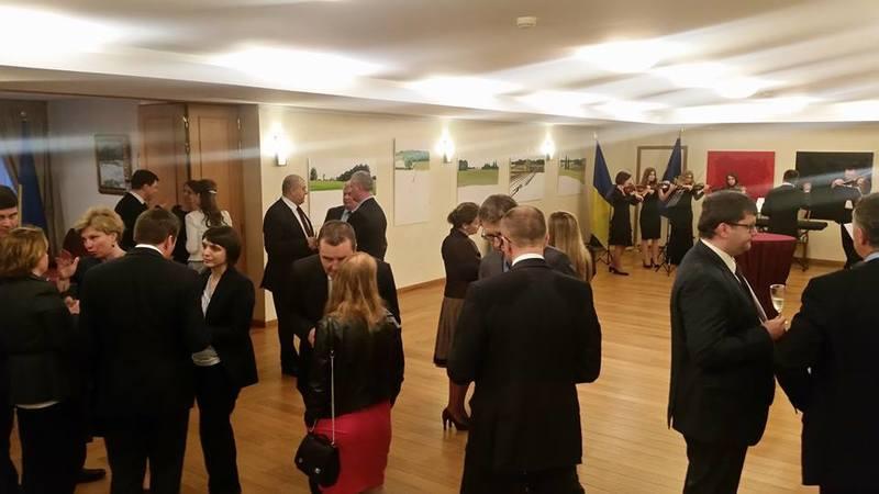 Виставку української художниці було представлено на Дні Європи в Брюселі