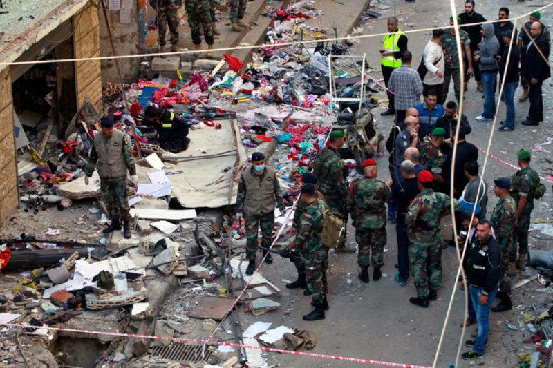 Про Бейрут забули...