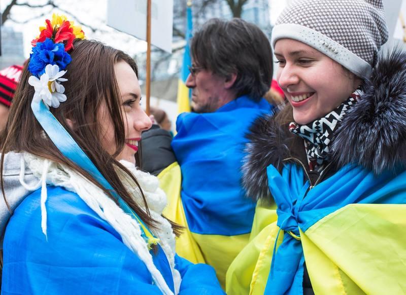 """Марш 1 березня """"Весна"""" в Торонто. """"За вашу і нашу свободу"""""""