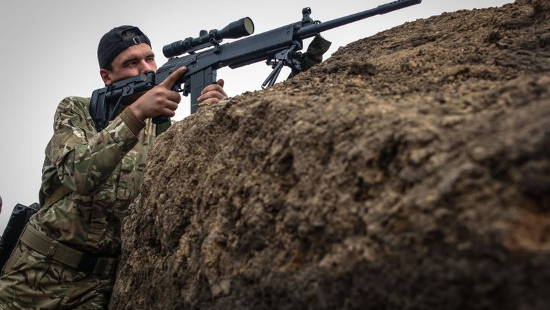 Широкино: вражаючі знимки американського фотографа з фронту