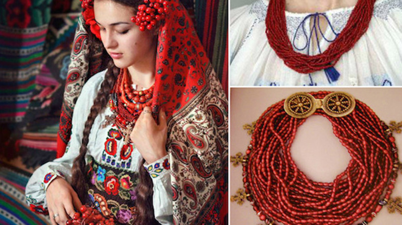 Українське намисто: історія, різновиди, символіка