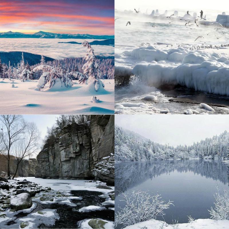 Найкрасивіші зимові пейзажі України