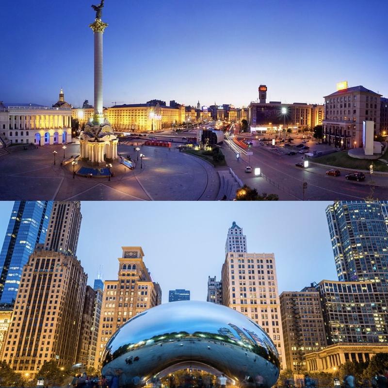 Київ - Чикаго: порівняння вартості життя між Україною та США