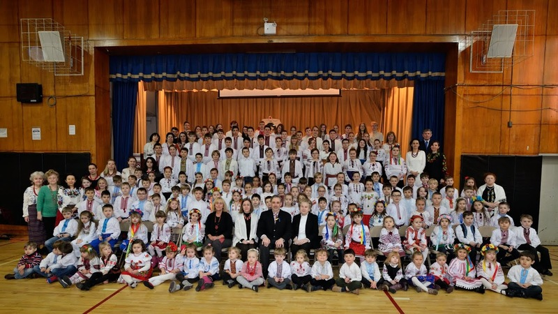 Welcome back to Ukrainian School in New York City