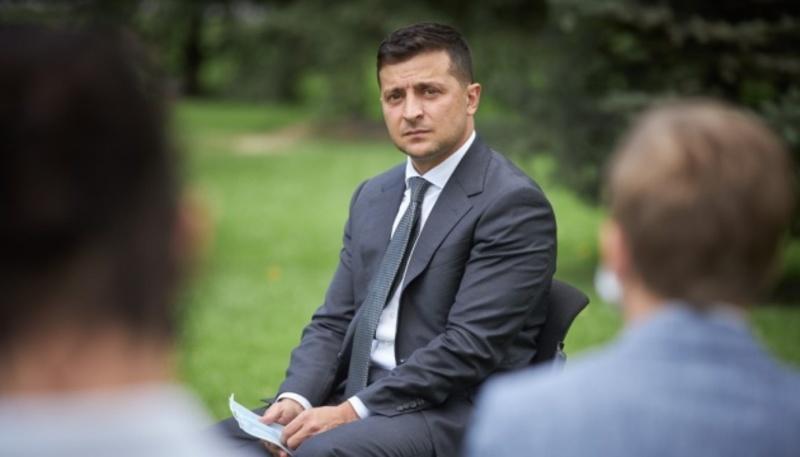 Зеленський в інтерв'ю Wiener Zeitung: Головним пріоритетом є повернення територій