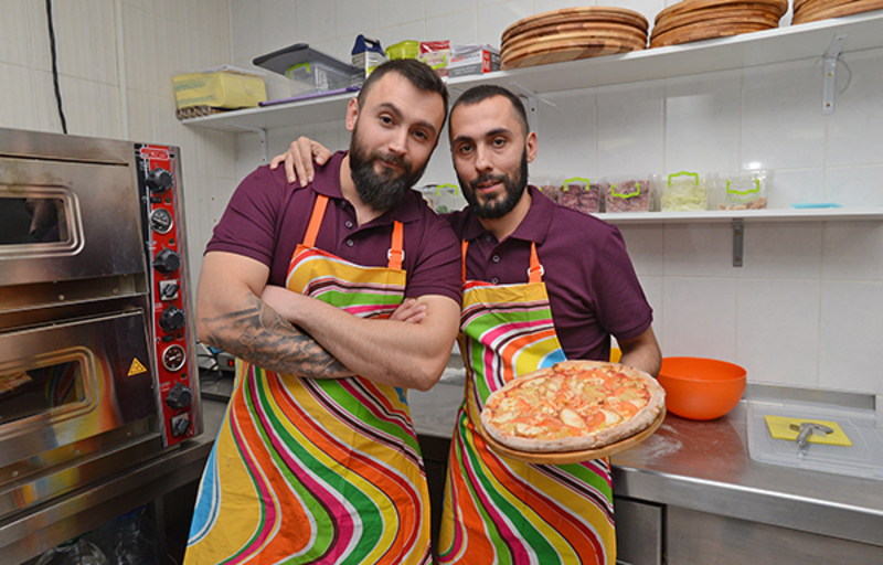 How pizza made by Ukraine's war veterans is taking over Kyiv