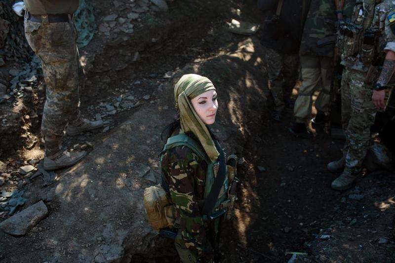 Героїзм українських жінок на війні