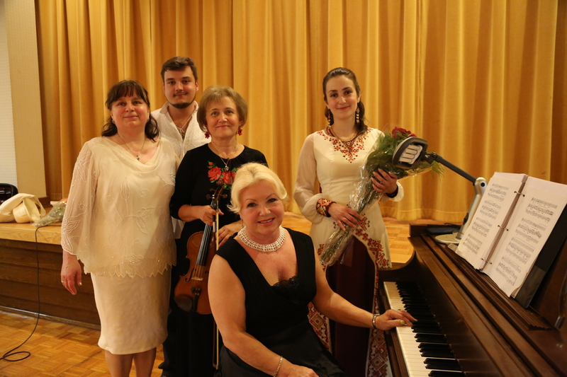 Благодійний концерт Віри Бойчук