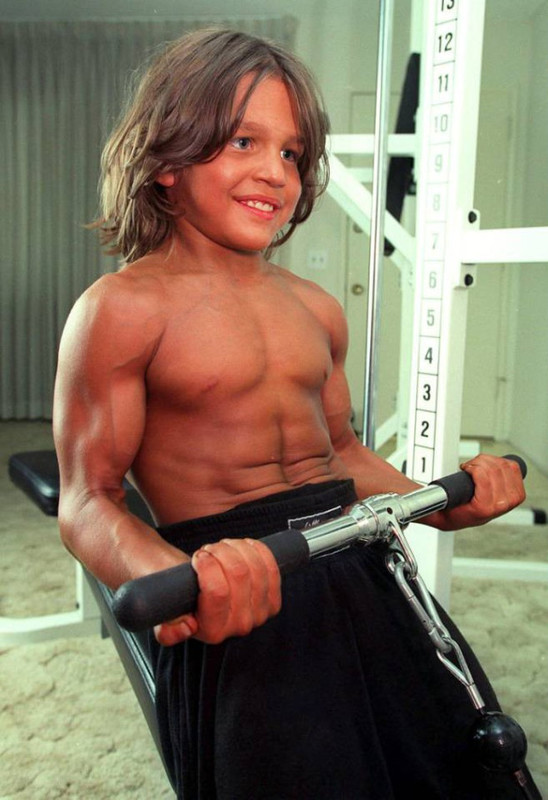 Meet Ukrainian child bodybuilder Richard Sandrak