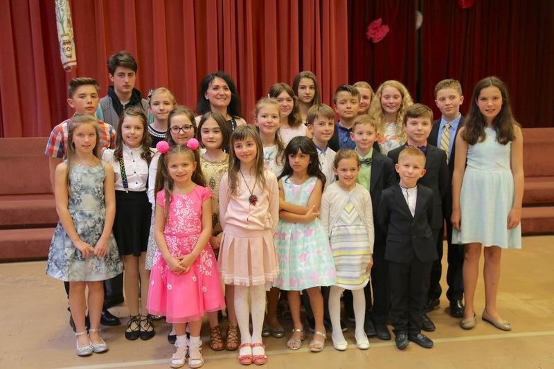 Звітний концерт юних піаністів школи мистецтв