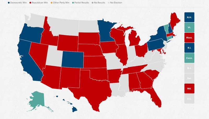 Демократи втратили контроль над Сенатом США вперше з 2006 року