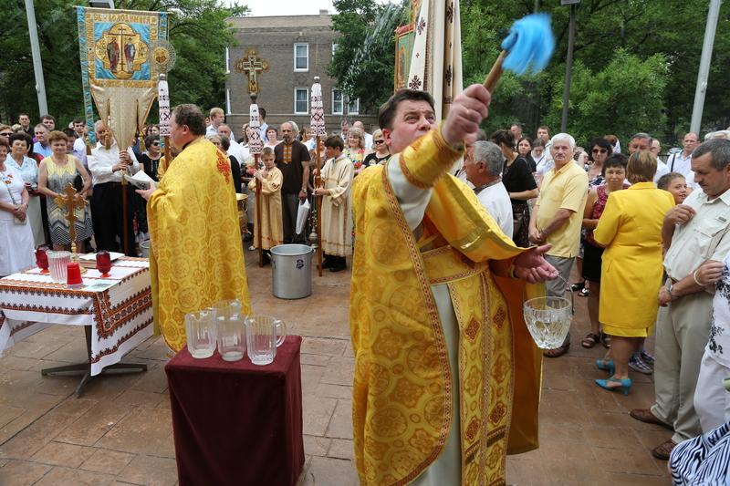 Водосвяття на парафії  св. Володимира і Ольги