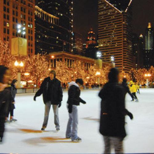 McCormick Tribune Ice Skating Rink
