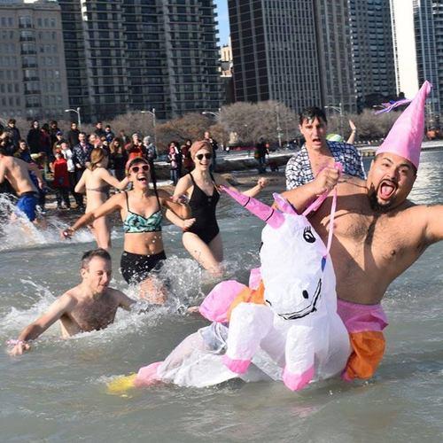 Щорічне традиційне загартовування у Чикаго