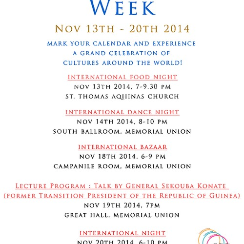 Iowa State University (Ames) - International Week