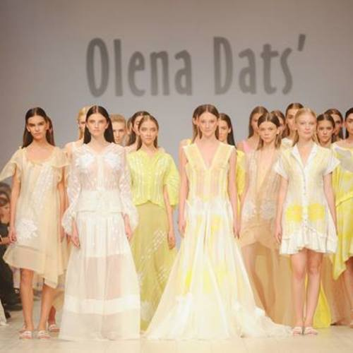 Olena Dats' Charitable Fashion Show at the Embassy of Ukraine in the USA