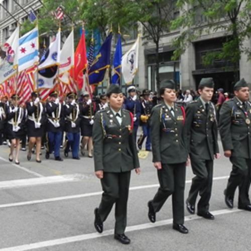 Chicago's Memorial Day Parade