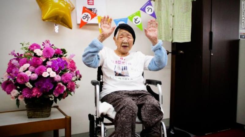 Олімпійський вогонь в Японії нестиме найстаріша жителька планети
