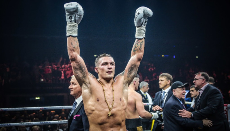 Олександр Усик очолив рейтинг WBA