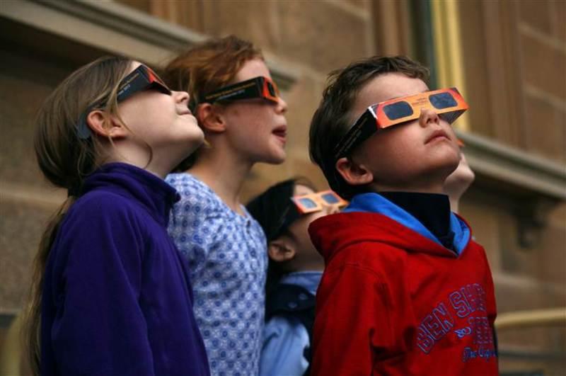 У четвер відбудеться сонячне затемнення