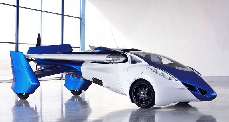 Співзасновник Google розробляє літаючий автомобіль