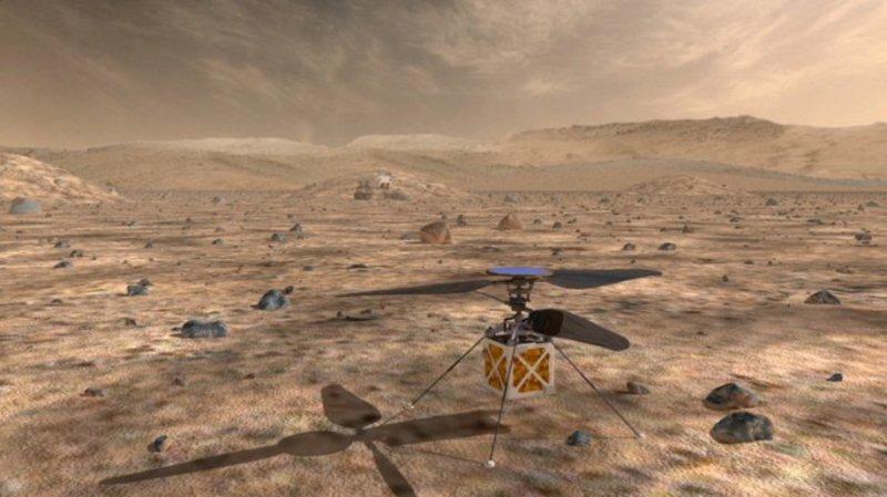 NASA розробили прототип гелікоптера-розвідника, який заряджається енергією Сонця (відео)
