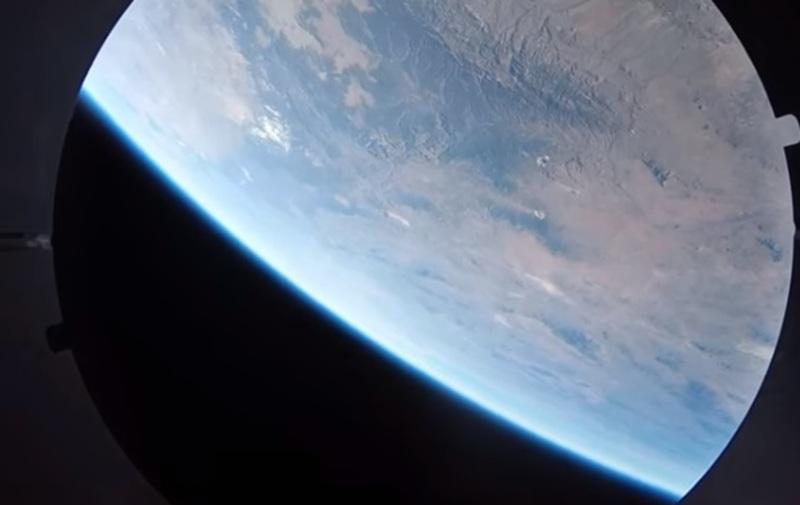 Камери GoPro зняли політ ракети в космосі