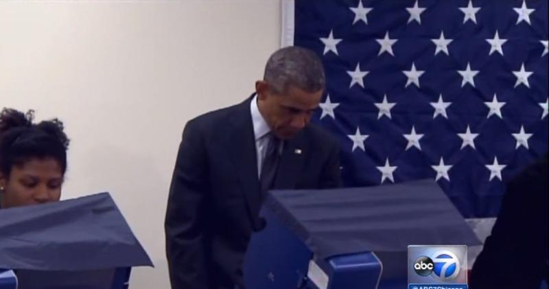 В Іллінойсі розпочалося дострокове голосування сьогодні і Президент США вже проголосував