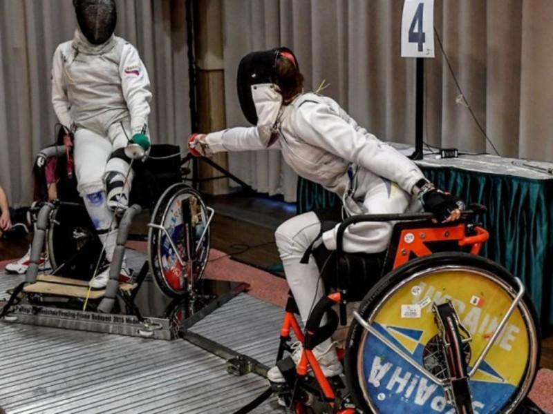 Українці завоювали п'ять медалей на Кубку світу з фехтування на візках