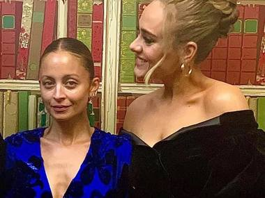 Adele одягнулась у плаття українського дизайнера