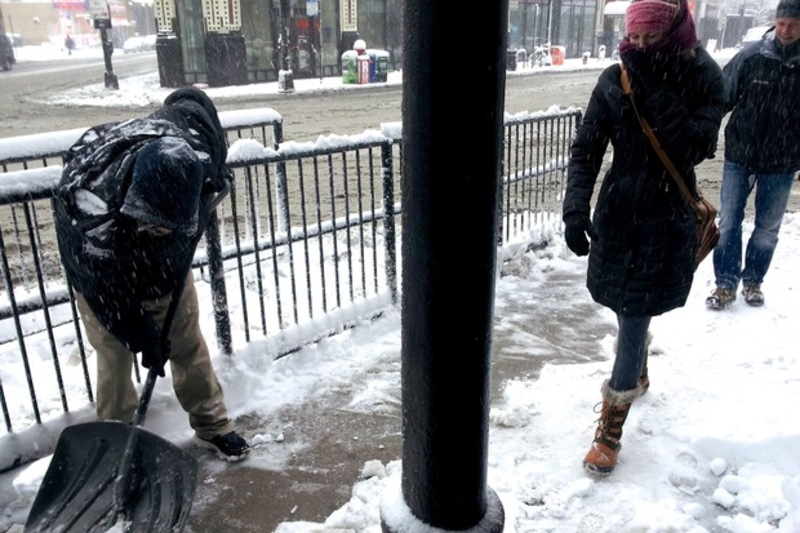 It's The Law: Shovel Your Sidewalk By 10 P.M. Or Risk A $500 Fine