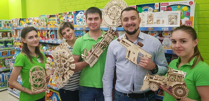 Ukrainians launched a new startup:an eco-toy store