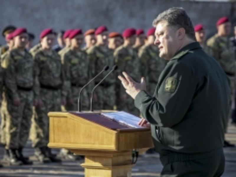 Президент Порошенко встановив новий День захисника Вітчизни і відвідав Запоріжжя
