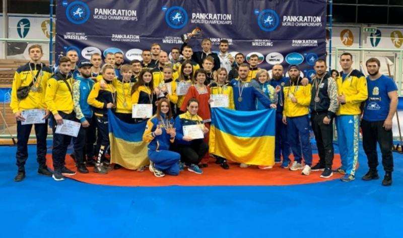 Українці вибороли 47 нагород на чемпіонаті світу з панкратіону
