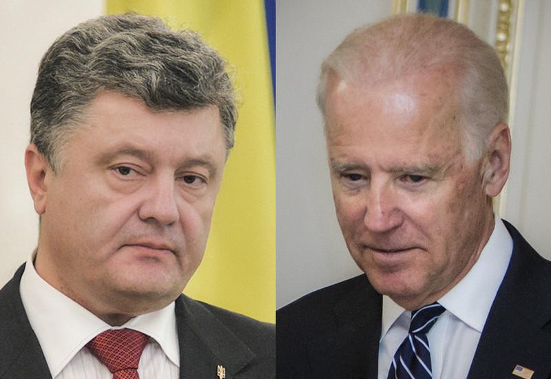 Порошенко і Байден поговорили про Україну