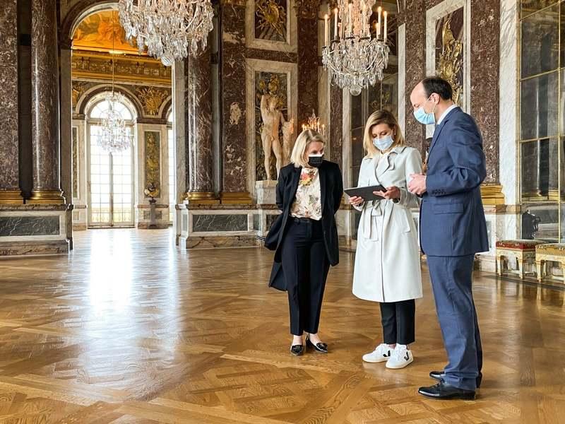 У французькому Версалі запрацював україномовний аудіогід