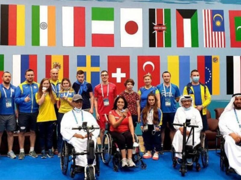 Українці вибороли дві медалі на турнірі з парабадмінтону в ОАЕ