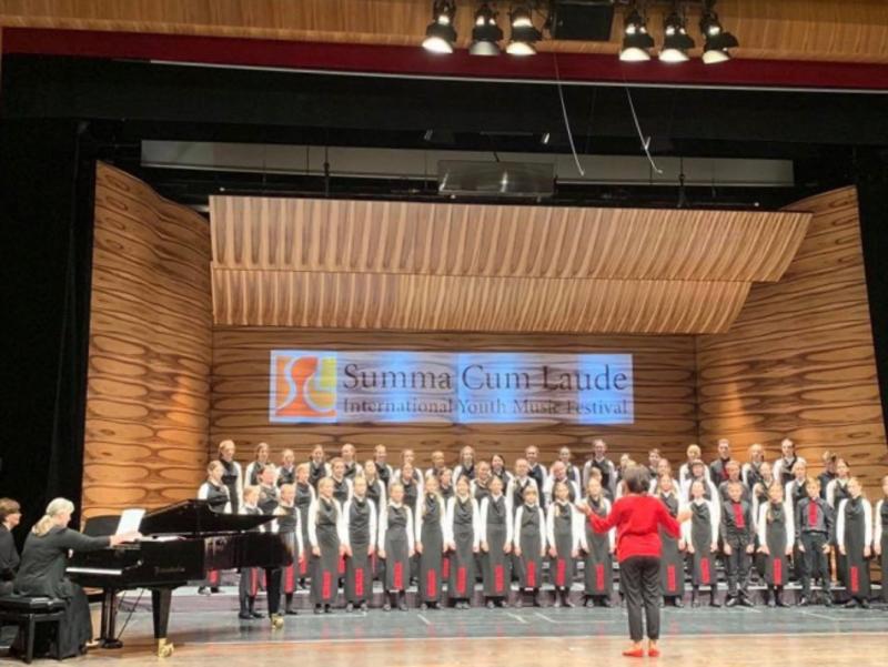 Український хор «Щедрик» переміг на австрійському музичному фестивалі