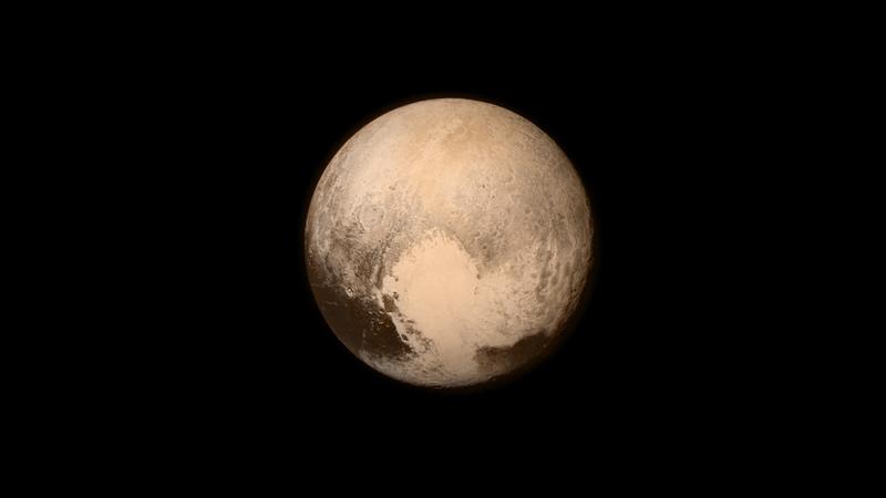 NASA показало унікальне відео польоту над Плутоном (дивитись)