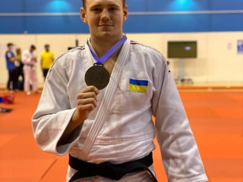 Українці вибороли три медалі на Кубку Європи з дзюдо