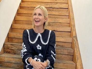 Келлі Разерфорд з'явилася у вбранні від українського дизайнера