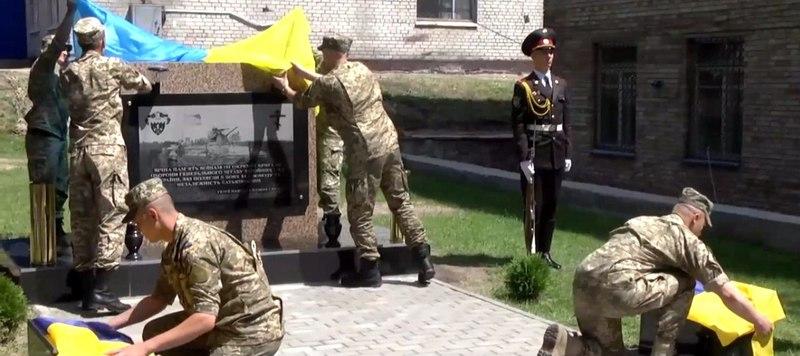 У Києві з'явилася Алея слави бійців, які захищали Дебальцеве