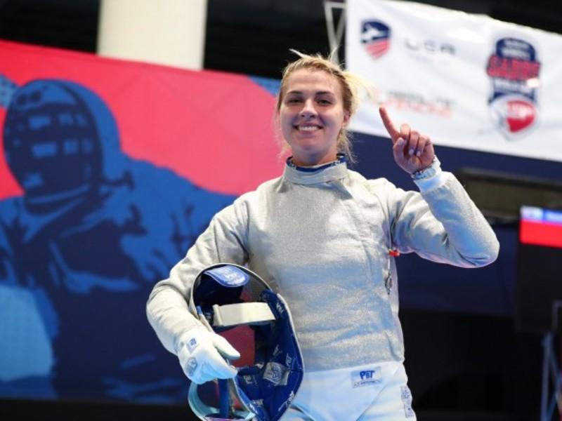 Українська шаблістка  виграла етап Кубка світу в США