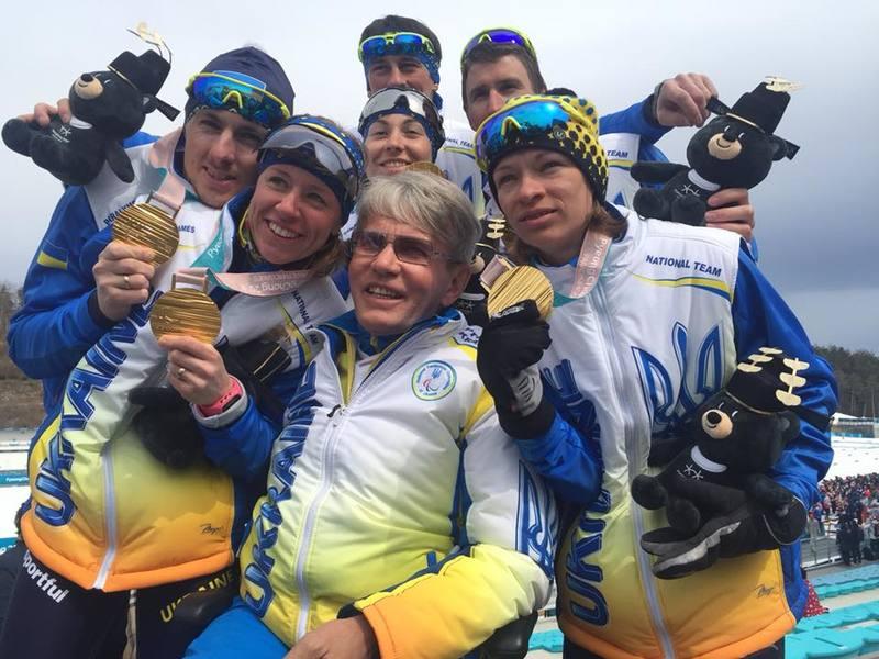 Україна посіла шосте місце на Паралімпіаді-2018