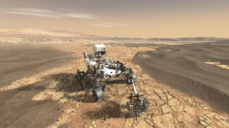 NASA запустила марсохід, який шукатиме ознаки життя на Марсі