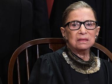 Померла суддя Верховного суду Рут Гінзбург
